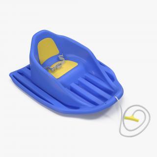 3D Stiga Baby Cruiser Sled model