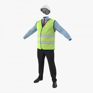 3D model Construction Architect Uniform