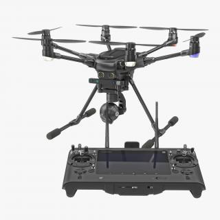 3D Yuneec Typhoon H Videography Hexacopter Set model