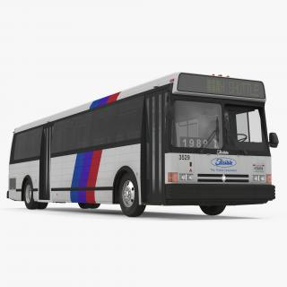 Flxible Metro D Bus 3D model