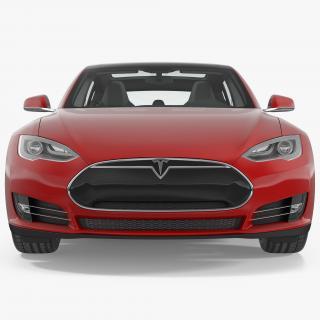 Tesla Model S 90D 2015 3D