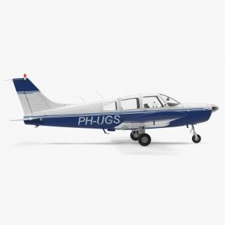 Piper PA-28-161 Cherokee 3D model