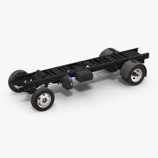 Truck Frame Chassis 3D model