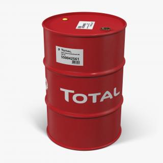 Oil Drum Total 3D model