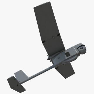 Small Hand Launched Remote Controlled UAV RQ-11B Raven 3D model
