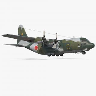 3D Lockheed C 130H Hercules L-382 Japan Air Force