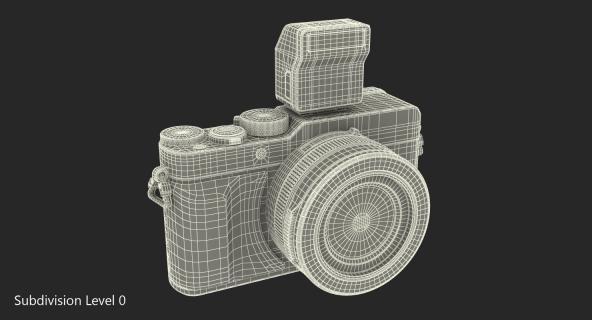 3D Digital Camera Panasonic LX100 Black