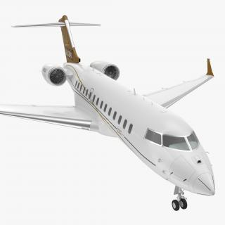Bombardier Global 6000 3D