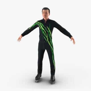 3D model Male Figure Skater 2