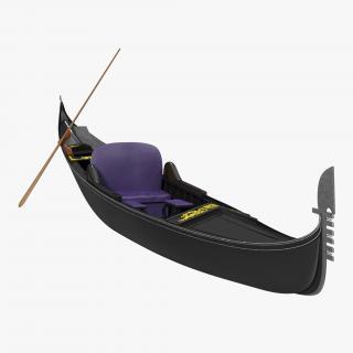 Gondola Boat 3D