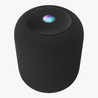 3D Apple HomePod model