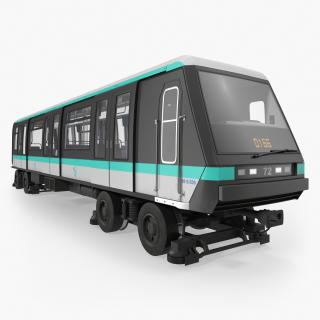 MP 05 Train Locomotive 3D
