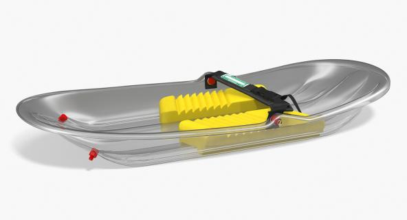 Freestyle Snow Sled 3D model