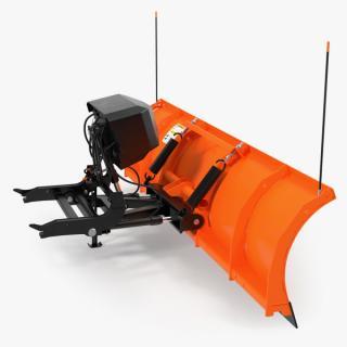3D model Snowplow Rigged