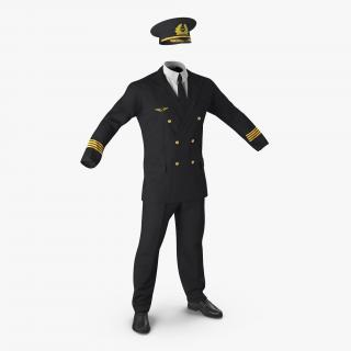 3D Airline Pilot Uniform