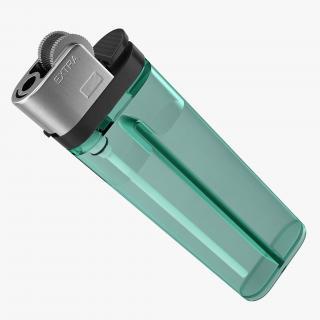 Disposable Gas Lighter 3D