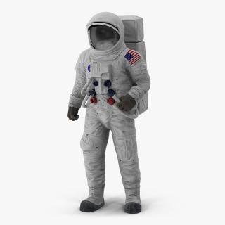 3D model A7L Spacesuit Rigged