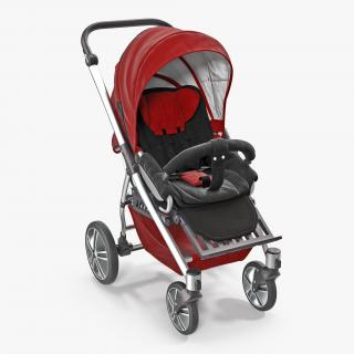 Baby Strollers Collection 2 3D