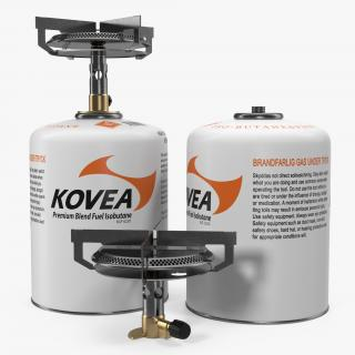 3D Mini Camping Gas Stove Kovea model