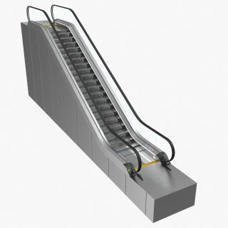 3D model Stair Lift Escalator