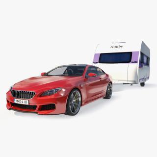 3D Sedan with Hobby Caravan Ontour