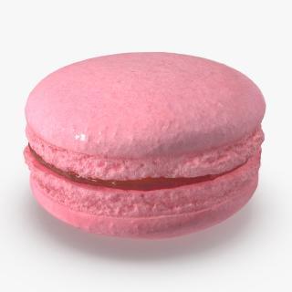 Pink Macaron 3D