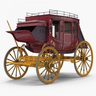 3D Concord Stagecoach model
