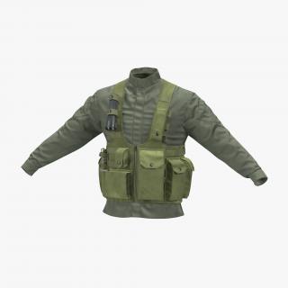 3D model Military Jacket
