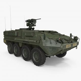 Interim Armored Vehicle Stryker M1126 3D