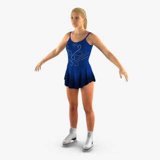 Female Figure Skater 2 3D