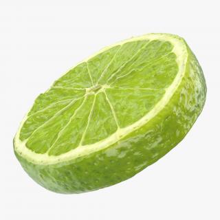 3D model Lime Slice