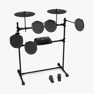 Electric Drum Kits Collection 3D model