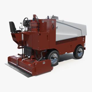 3D Ice Resurfacing Machine model