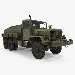 US Army Fuel Tank Truck m49 3D