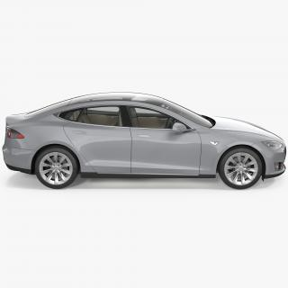 Tesla Model S 60D 2015 3D