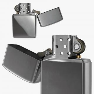 3D Metal Lighter model