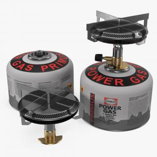 Camping Gas Stove 3D