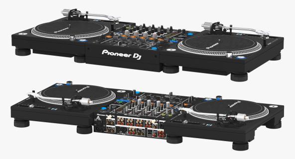 3D All In One Digital DJ System Pioneer