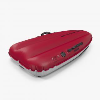 Big Air Inflatable Sled Red 3D