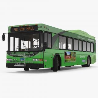 3D model Gillig Low Floor Hybrid Bus Intercity Transit
