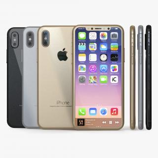 Iphone 8 Concept Collection 3D