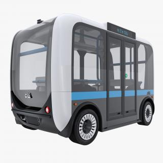3D model Olli Self Driving Electric Bus