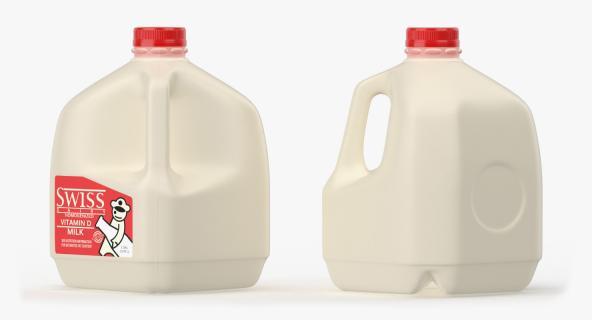 3D model Milk Gallon Plastic Jug 2