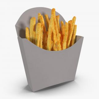 French Fry Box Generic 3D