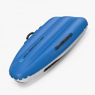 3D model Airboard Classic 130 Sled Blue