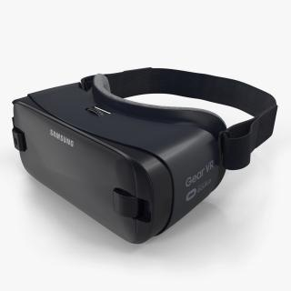 3D model Samsung Gear VR 2017