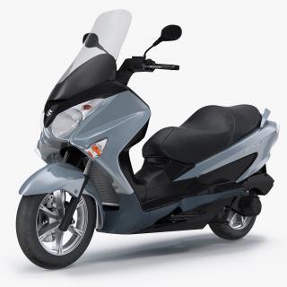 Scooter Motorcycle Suzuki Burgman 200 3D