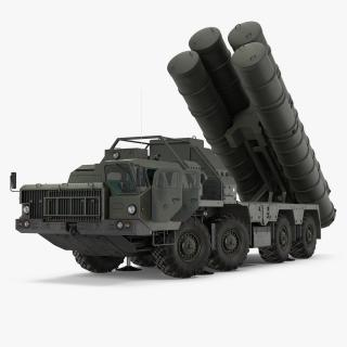 3D S-300 Russian SAM System Rigged