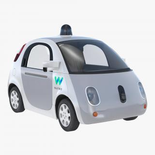 Waymo Self Driving Car 3D