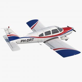 Light Aircraft Piper PA-28-161 Warrior III 3D